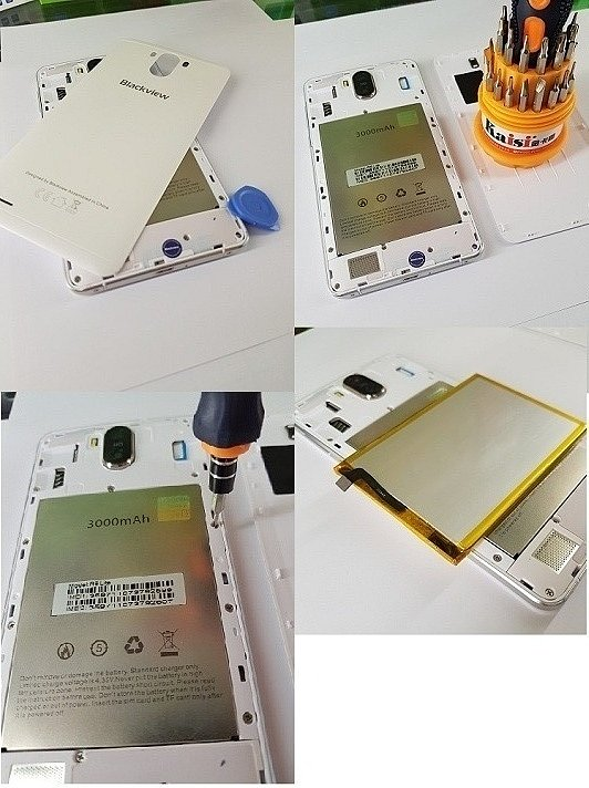 Замена аккумулятора в смартфоне