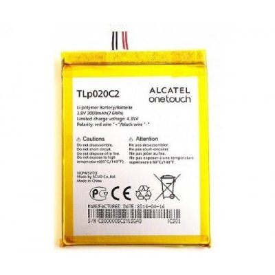 Аккумулятор Alcatel TLp020C2 ( One Touch 6034R, 6040D, 6037Y, 6032X )