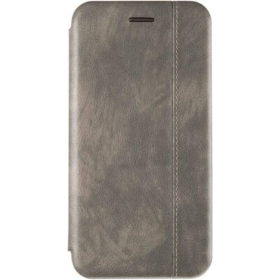Book Cover Leather Gelius for Xiaomi Redmi Note 8 Grey