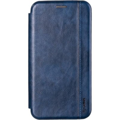 Book Cover Leather Gelius for Xiaomi Redmi 8 Blue