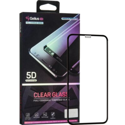 Защитное стекло Gelius Pro 5D Clear Glass for iPhone 11 Pro Black