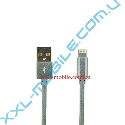 USB Cable LDNIO LS08 iPhone 5/6 Grey 1m