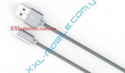 USB Cable LDNIO LS08 MicroUSB Grey 1m