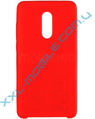 Original Soft Case Xiaomi Redmi Note 5/5 Pro Red (14)