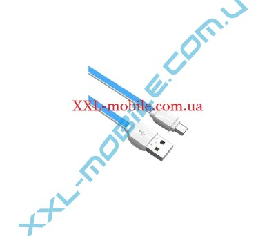 USB Cable LDNIO XS-07 MicroUSB Blue 1m