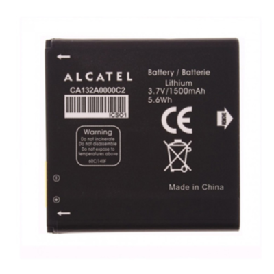 Аккумулятор Alcatel CA132A0000C2 ( C5, One Touch 5036 )