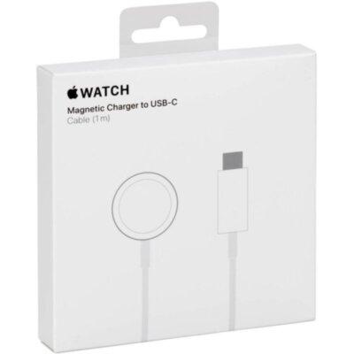 Зарядный кабель Apple Watch Magnetic Charger to USB-C Cable 1m (MX2H2CH/A)