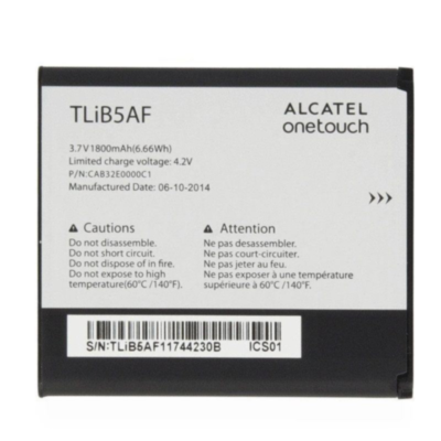 Аккумулятор Alcatel TLiBA5F ( One Touch 997d )