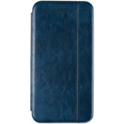 Book Cover Leather Gelius for Xiaomi Redmi 6a Blue
