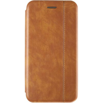 Book Cover Leather Gelius for Xiaomi Redmi Note 6 Pro Gold