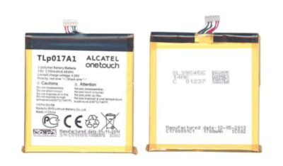 Аккумулятор Alcatel TLp017A1 ( Idol mini 6012D, 6015X, 6014X, 6016X )