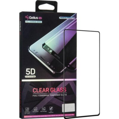 Защитное стекло Gelius Pro 5D Clear Glass for Samsung N980 (Note 20) Black