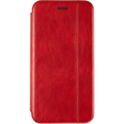 Book Cover Leather Gelius for Xiaomi Mi Note 10 Red
