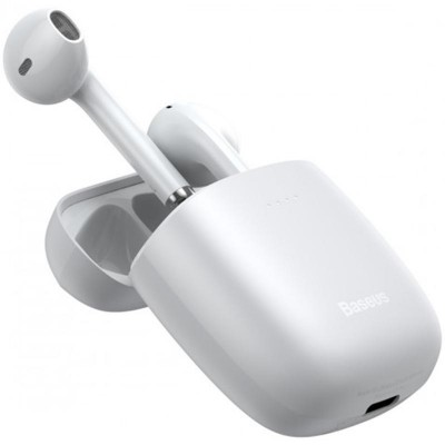Stereo Bluetooth Headset Baseus W04 White