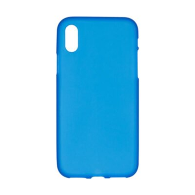 Original Silicon Case iPhone X Blue