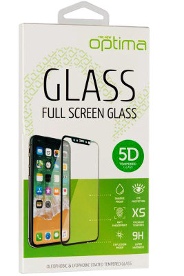Защитное стекло Optima 5D for iPhone 6 Plus White