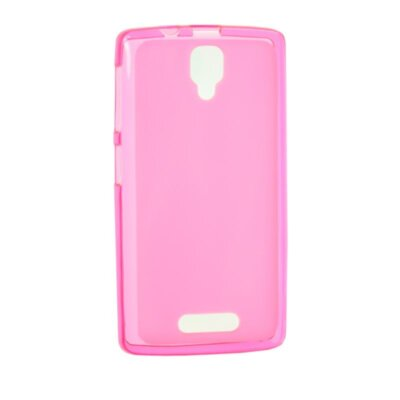Original Silicon Case Meizu M6 Note Pink