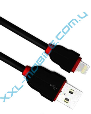 USB Cable LDNIO LS02 iPhone 5/6 Black 2m