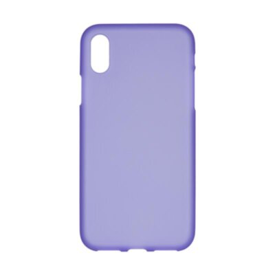 Original Silicon Case iPhone X Violet