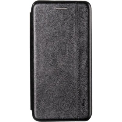 Book Cover Leather Gelius for Xiaomi Redmi 7a Black