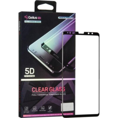 Защитное стекло Gelius Pro 5D Clear Glass for Samsung N950 (Note 8) Black
