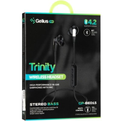 Stereo Bluetooth Headset Gelius Pro Trinity GP-BE-015 White