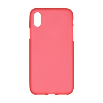 Original Silicon Case iPhone X Red
